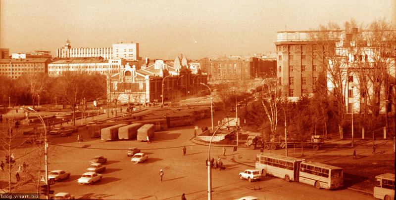1991 год октябрь 29-ое или 30 -ое — забастовка автобусов