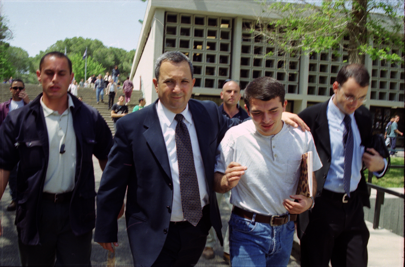 Ehud Barak in Technion