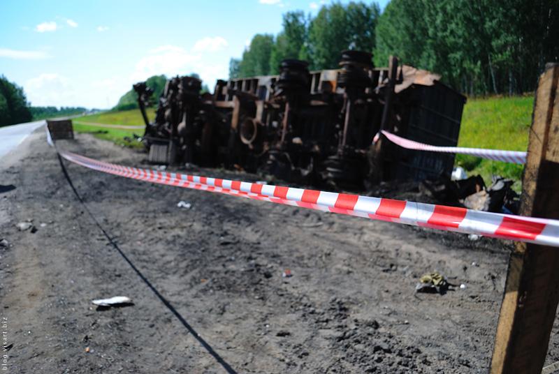 Авария под Новосибом