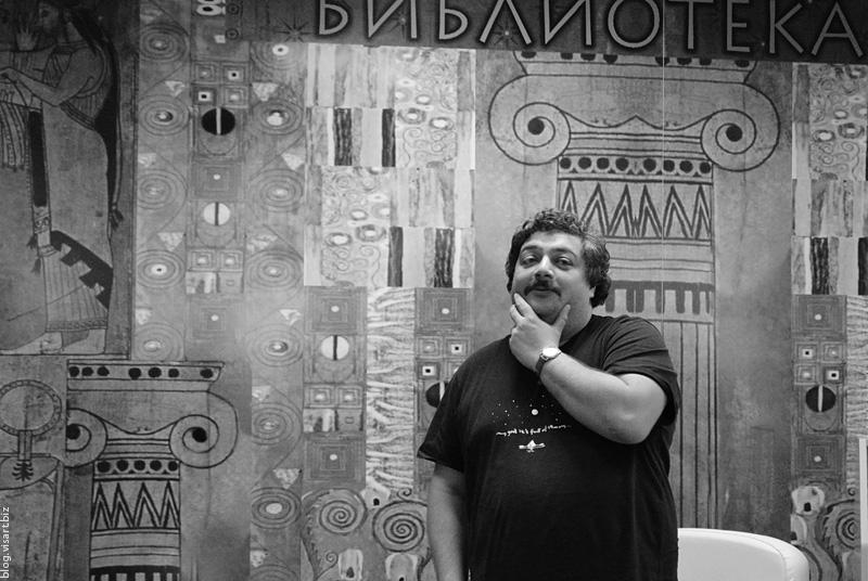 Dmitry Bikov in Novosibirsk