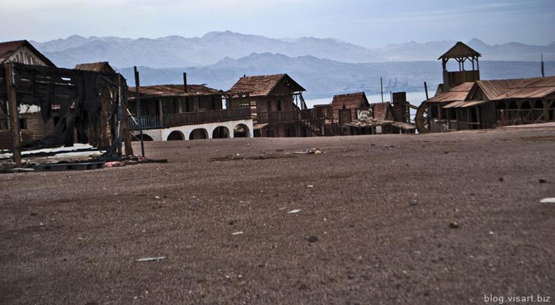 Эйлат и древний город Эйлот-таун