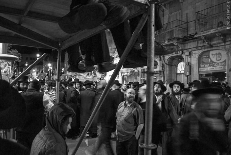 Похороны рава Овадьи Йосефа /  הרב עובדיה הובא למנוחות