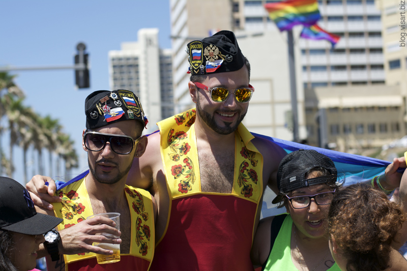 Tel Aviv Gay Pride Parade 2015