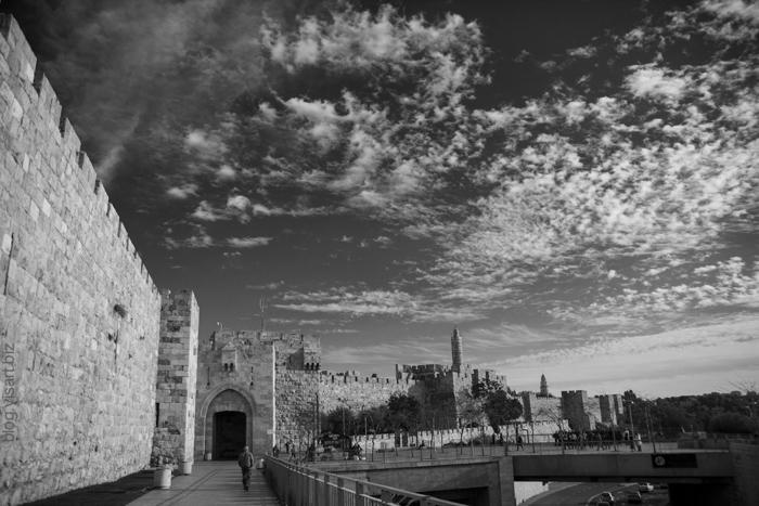 Jerusalem at autmn