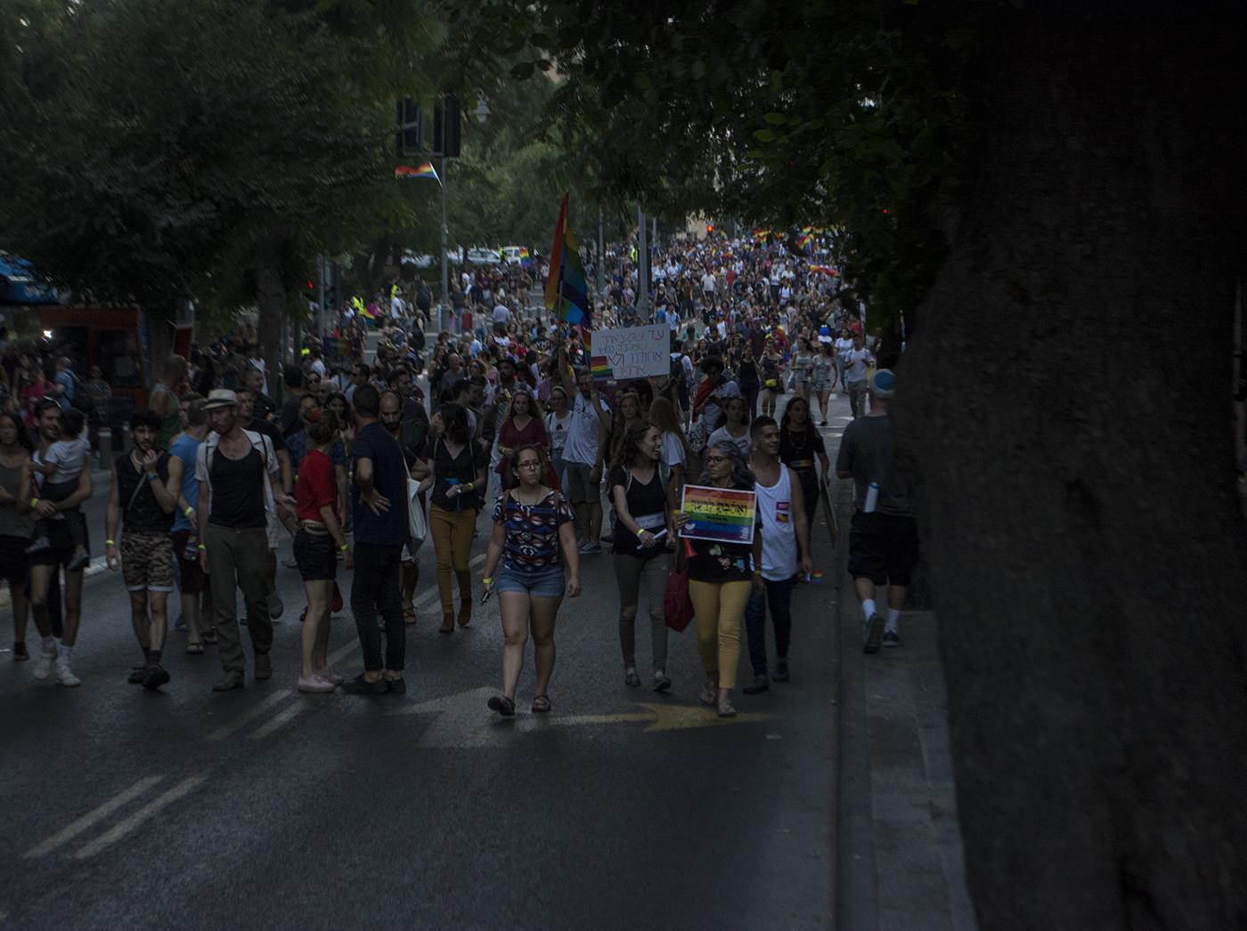 Гей парад в Иерусалиме 2018