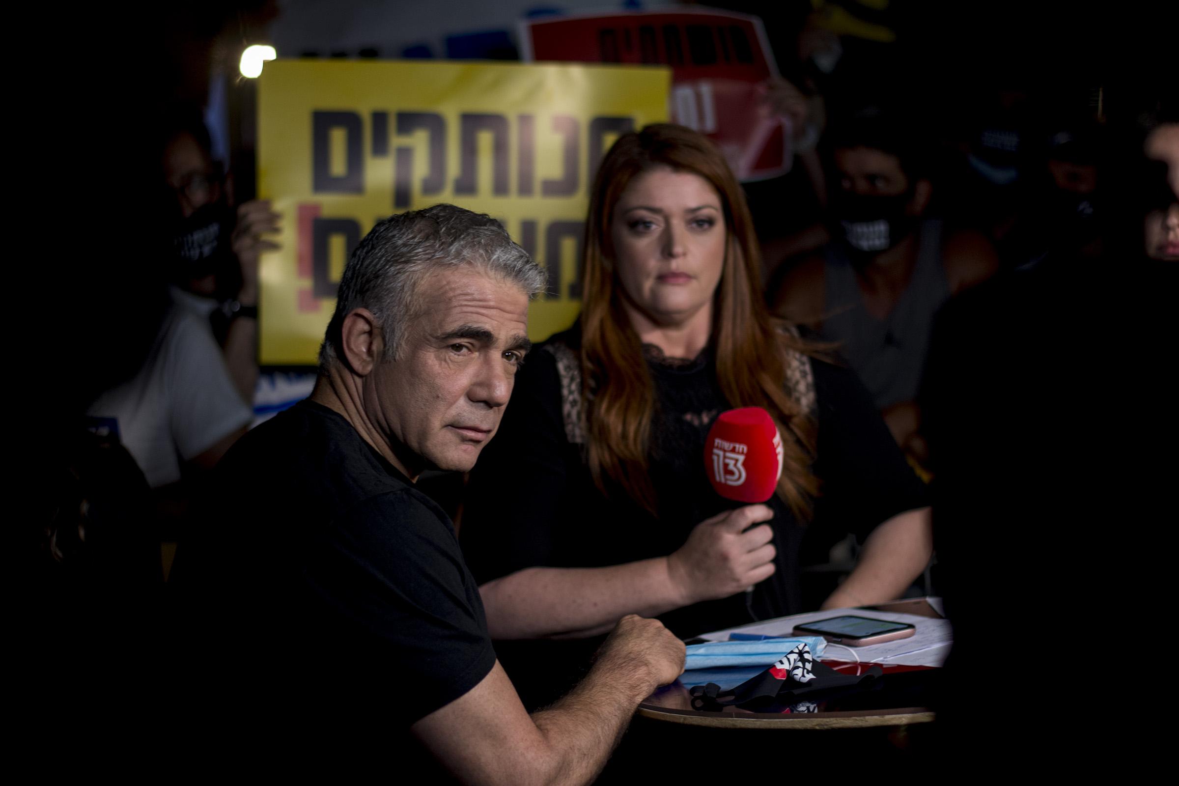 Митинги за отставку Нетанияу