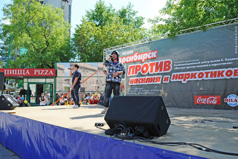 Нарки и насильники против жителей Новосибирска