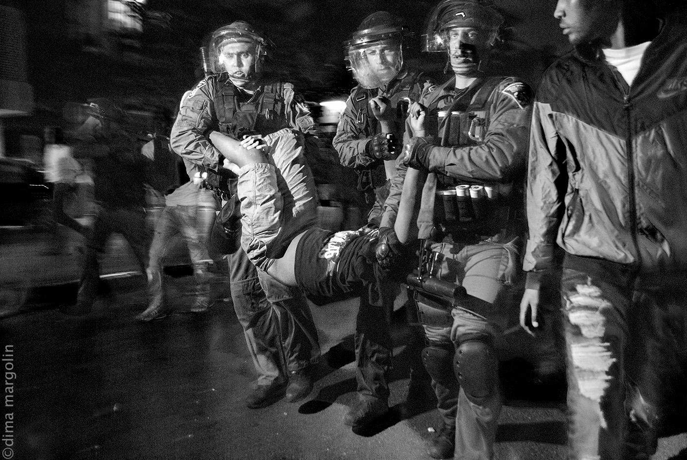 Black night in Tel Aviv – לילה שחור בתל אביב